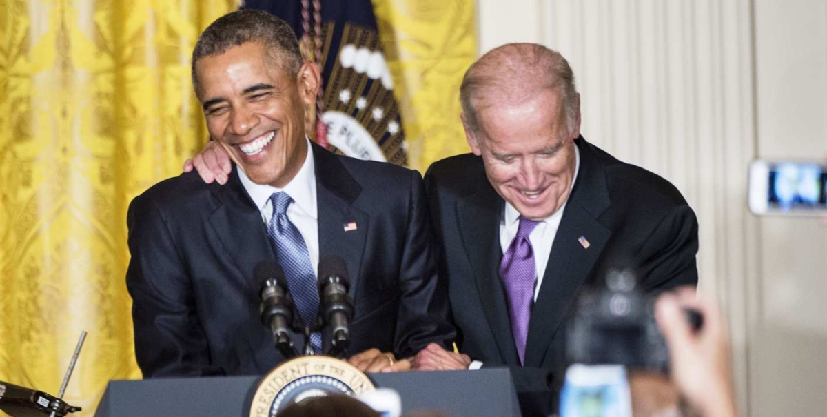 biography of barack obama and joe bidens relationship